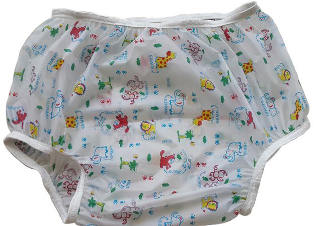 Adult baby plastic pants