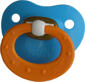 Blue/Orange Pacifier