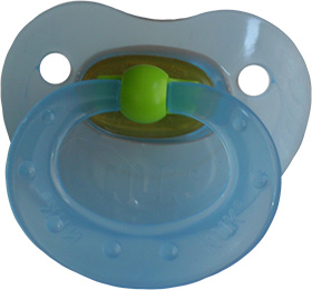 Juicy Blue Pacifier