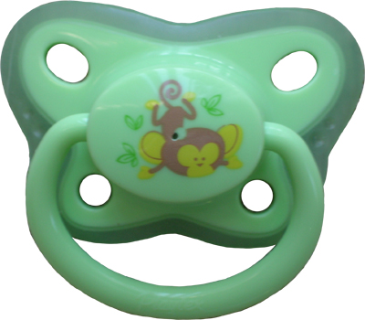 Green Monkey Pacifier